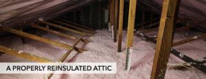 Attic Re-Insulation
