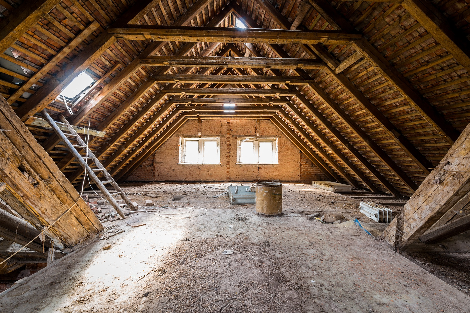 Types Of Attic Insulation Construction